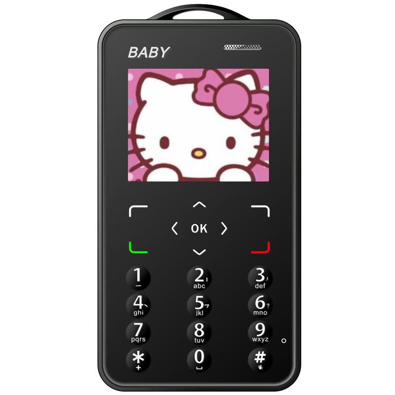 ?超薄卡片手机儿童电信移动可爱迷你学生男女备用手机网红个性大字大声天翼超小手机