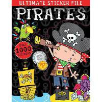 【预订】Ultimate Sticker File Pirates
