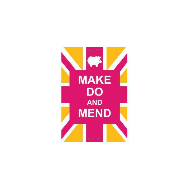 【预订】Make Do and Mend 美国库房发货,通常付款后3-5周到货!