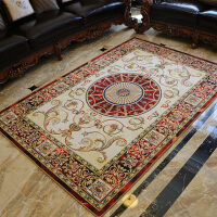 客厅地毯茶几沙发毯地垫 家用欧式简约书房卧室床边现代欧美地毯