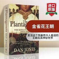 华研原版 金雀花王朝 英文原版 The Plantagenets 英文版欧洲历史书籍 英国英格兰中世纪革命前的王朝统治