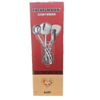 法克曼(Fackelmann) 不锈钢锅铲汤勺漏勺打蛋器套装6件套