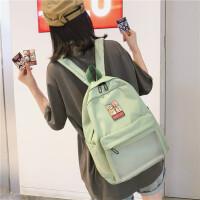 初中学生书包女高中学院风双肩包女2019新款背包