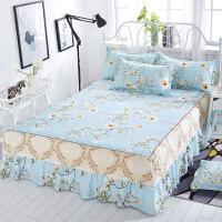 防尘罩席梦思床罩床裙式床套单件防尘保护套1.5米1.8m床单床垫床笠防滑
