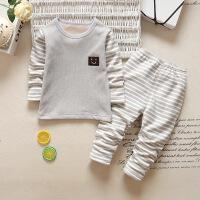 男女儿童秋冬季加绒加厚睡衣套装宝宝保暖内衣两件套小孩秋衣秋裤