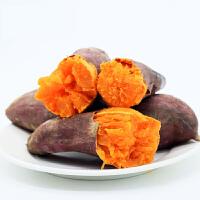 现挖六鳌蜜薯5斤包邮【2500g】约7-15个沙地红蜜香甜粉糯皮薄美味宝宝辅食