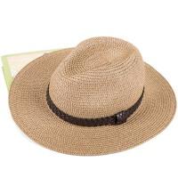 遮阳帽子 男士太阳帽 男夏天草帽 礼帽沙滩帽 防晒牛仔帽