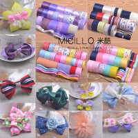 儿童饰品配件 头饰发夹蕾丝套餐手工制作发饰丝带发卡diy材料包