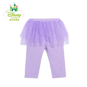 迪士尼Disney女童打底裙裤春秋儿童假两件裤子外出裤171K746