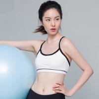 户外运动专业运动内衣瑜伽服抹裹胸细带背心无钢圈可拆胸垫