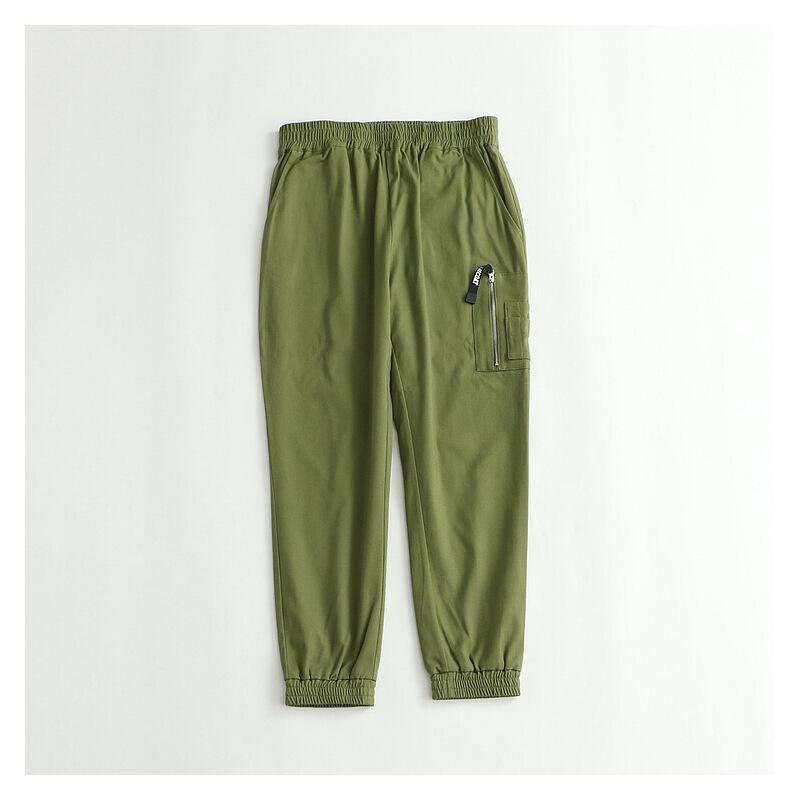 男士休闲裤 松紧腰哈伦裤收口运动裤棉质梭织帅气长裤19 发货周期:一般在付款后2-90天左右发货,具体发货时间请以与客服商的时间为准