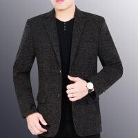 2018秋季春秋帅气中年男士休闲小西装修身韩版西服新款潮流外套男