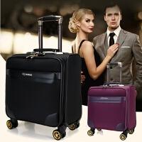 16寸万向轮行李箱商务牛津布登机箱手提旅行箱男女密码小行李箱包