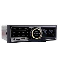 车载卡机MP3播放器蓝牙MP4插卡u盘收音主机汽车CD播放器
