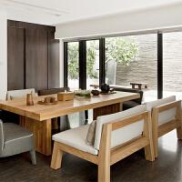 欧式家具茶几实木沙发椅办公室简约泡茶桌椅组合桌子会议桌书桌 组装