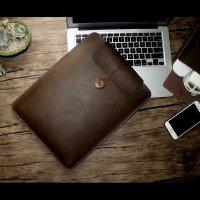 苹果电脑包macbook air内胆包pro11/12/13/15寸笔记本真皮保护套 其它尺寸