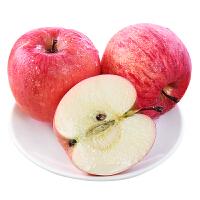 【品质好果】陕西洛川红富士苹果新鲜水果当季香甜红苹果带箱10斤 中果果径70-75mm