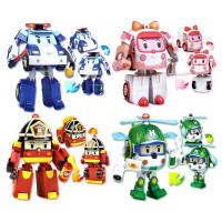 Silverlit 银辉 POLI珀利系列闪亮变形机器人 动漫周边儿童玩具 珀利/罗伊/安巴/海利