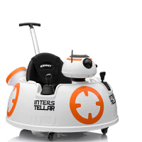充电婴儿童电动车四轮碰碰车室内摇摆车小孩摩托玩具车带推杆可坐