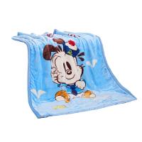 婴儿小毛毯子双层加厚冬季儿童云毯宝宝盖肚绒毯春秋被子四季通用