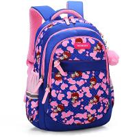 儿童书包小学生3-5-6年级可爱公主双肩包中大童减负护脊女孩背包4