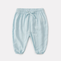 婴儿裤子夏季男新生儿长裤薄款儿童休闲裤夏装女宝宝防蚊裤