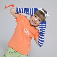 【品牌钜惠:35】贵人鸟男童短袖纯棉T恤男2020夏季新款大童儿童半袖夏装上衣童装8