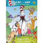 Wings and Paws and Fins and Claws (Little Golden Book, Dr. Seuss Deluxe Coloring Book) 翅膀&爪子&鳍&爪(金色童书)ISBN 9780375859281