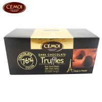 【海外购】法国进口 赛梦(CEMOI)黑松露形巧克力 100g/盒