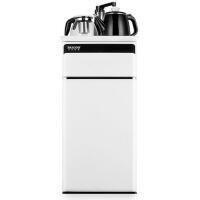 双层双开门家用茶吧机全自动立式节能冰温热饮水机