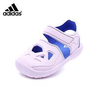 阿迪达斯Adidas童鞋18新款凉鞋男女童夏季婴幼童宝宝鞋时尚拼色学步鞋 (0-4岁可选) CQ0087