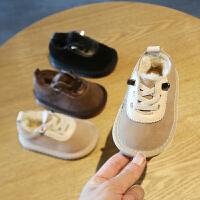 宝宝鞋子秋冬季学步鞋男软底机能鞋女1-3岁0-2公主儿童鞋婴儿棉鞋
