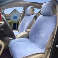 新款冬季羊毛汽车坐垫保暖短毛绒奥迪A6lQ5大众迈腾B8座垫毛垫