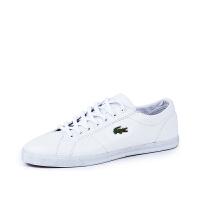 Lacoste法国鳄鱼男鞋经典时尚小白鞋休闲板鞋专柜正品