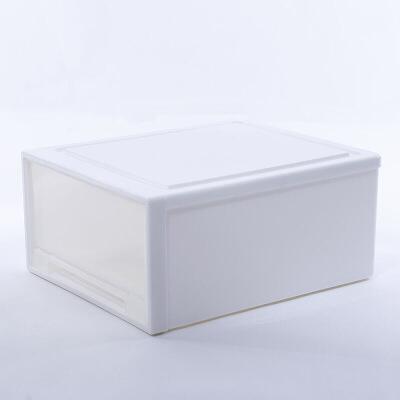 新品秒杀衣服储物箱塑料收纳箱抽屉式收纳柜透明衣柜收纳盒衣物整理箱  1个 一般在付款后3-90天左右发货,具体发货时间请以与客服协商的时间为准