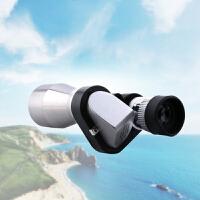 征伐 迷你望远镜 8x20袖珍拐角高清光学户外单筒望远镜