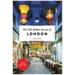 【500个隐藏秘密旅行指南】London,伦敦 英文原版旅游攻略