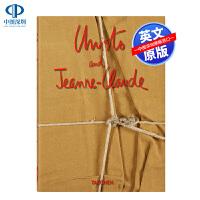 英文原版 克里斯托和让娜-克劳德夫妇 Christo And Jeanne-Claude 精装 现当代艺术画册书 塔森T