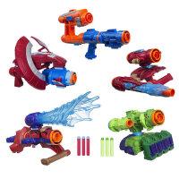 复仇者联盟3钢铁侠蜘蛛侠组合装备美国队长盾牌可发射软弹玩具枪