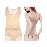 薄款后脱产后收腹腰束身衣塑身衣 连体紧身衣 女塑身内衣塑形内衣 1