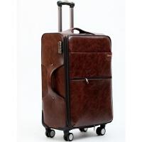 旅行箱24寸行李箱万向轮20寸登机箱商务26寸行李箱女男密码软皮箱