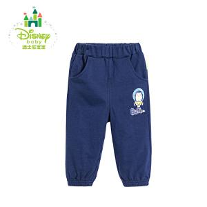 【卷后139元3件】迪士尼Disney童装男童裤子儿童春秋装新品宝宝保暖长裤173K768