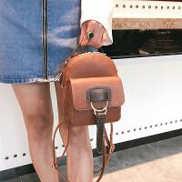 韩版新款女双肩包小包休闲百搭多用迷你背包女士包包时尚个性潮包