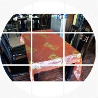 结婚婚庆用品桌布一次性红桌布茶几布婚宴婚礼喜庆家用餐桌台布 一包10张