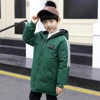 男童棉衣冬装加厚外套儿童羽绒袄中大童冬季加绒童装