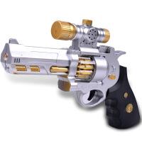 新奇特儿童电动声光玩具枪 灯光振动投影枪男孩玩具 投影枪