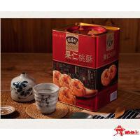 苏稻--果仁桃酥糕点礼盒罐装880g