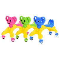 儿童扭扭车1-2-3-4岁宝宝学步车儿童溜溜车玩具车静音轮带音乐四轮可座滑行车摇摆车平衡车