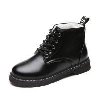 WARORWAR新品YM147-1708秋冬休闲平底舒适女士短靴马丁靴