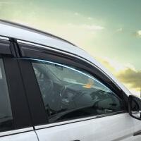 专用于凯迪拉克SRX晴雨挡 凯迪拉克ATS雨眉 改装装饰车窗遮雨档 * 凯迪拉克SRX 注塑带亮条